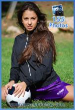 purple erima nylon shorts