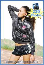 Black adidas sprinter shorts